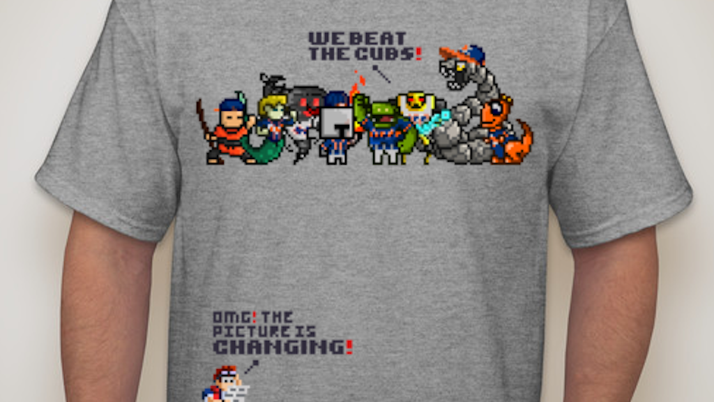 Project image for T-shirt - Mets & Royals -Break Back to the future prediction