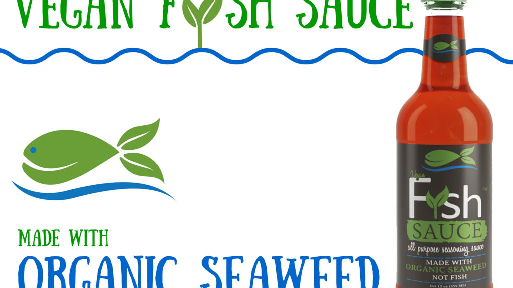 Fysh™ sauce: made with organic seaweed not fish - vegan project video thumbnail