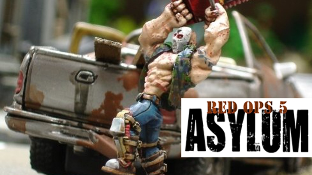 Red Ops 5: Asylum- A Miniatures Game of Modern Horror project video thumbnail
