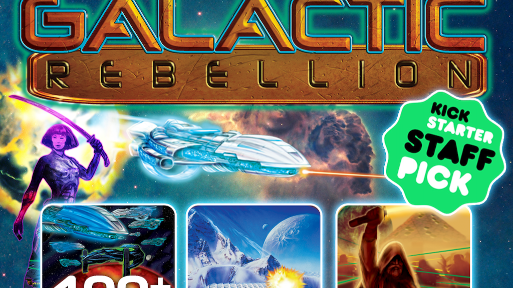 EMPIRES GALACTIC REBELLION! A board game homage to Star Wars project video thumbnail