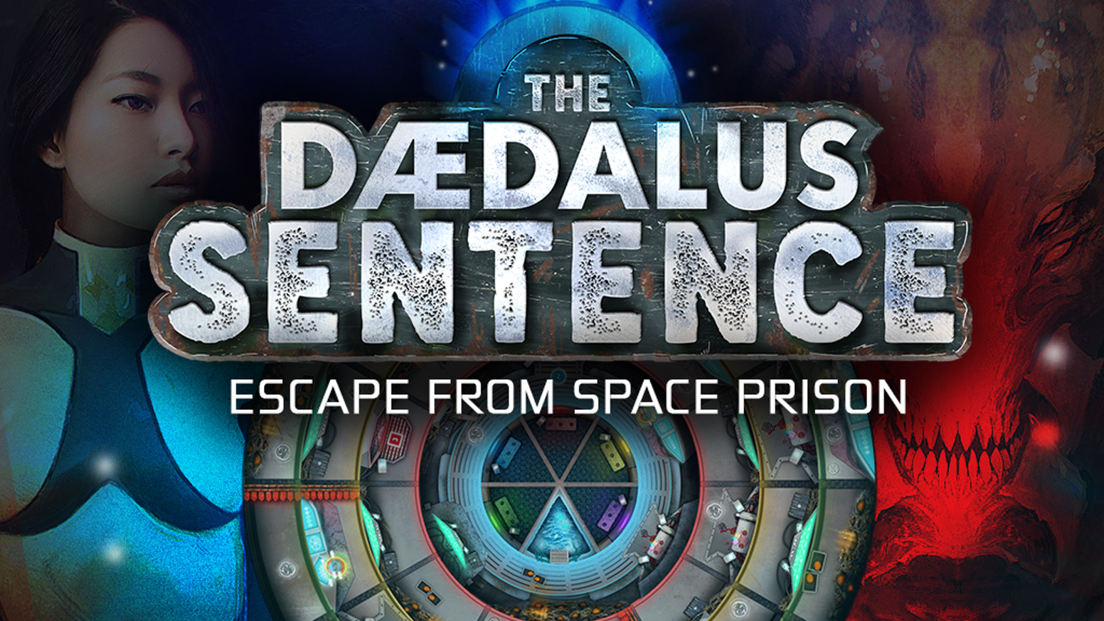 The Daedalus Sentence is a cooperative escape game for 1 to 4 players in a dangerous and ever-changing prison with 7 difficulty levels.