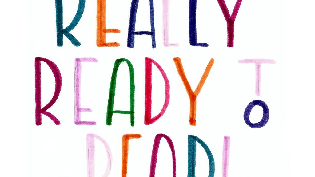 Really Ready to Read! - a book by a kid for kids project video thumbnail
