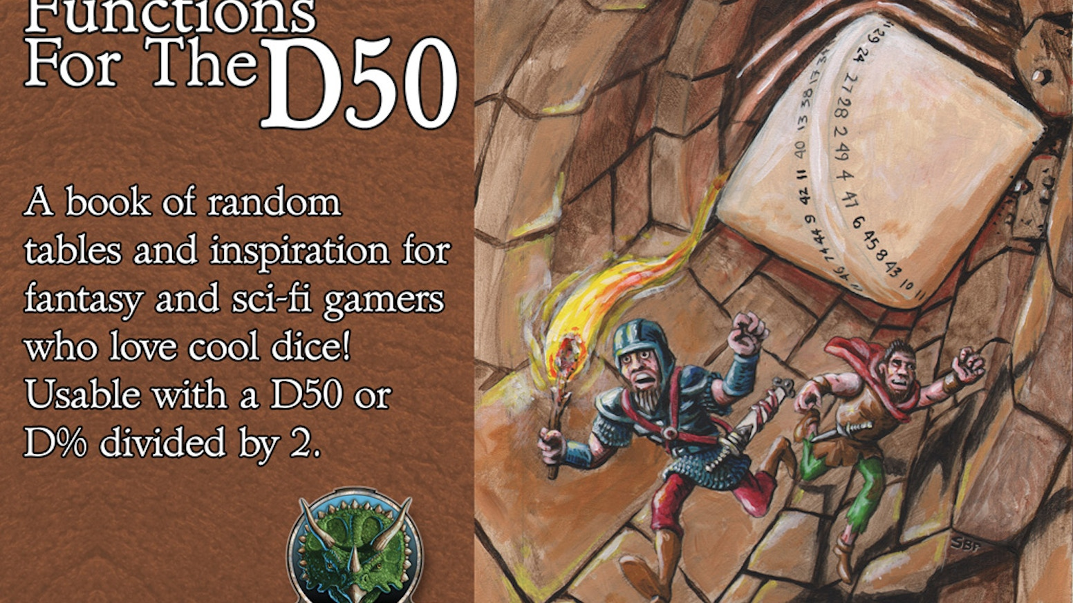 Fifty Fantastic Functions for the D50 by Goodman Games — Kickstarter
