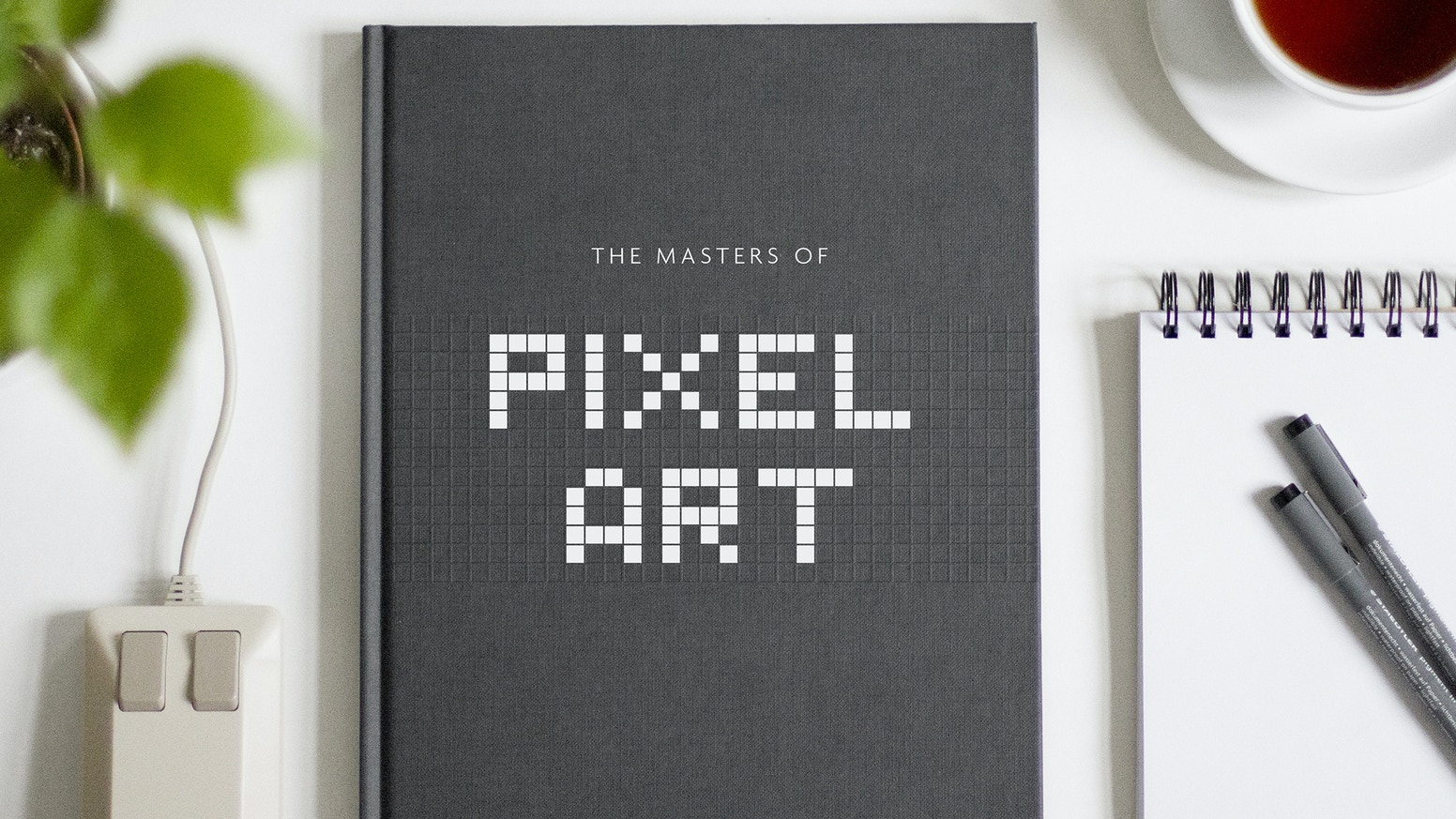Stylish and contemporary artbook - presenting Pixel Artwork with additional backgound information, stories and comments.