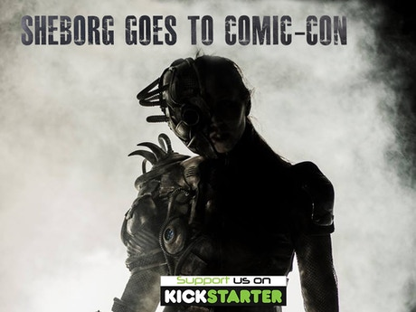 Sheborg goes to comic con by strongman pictures kickstarter for Epic motors san diego