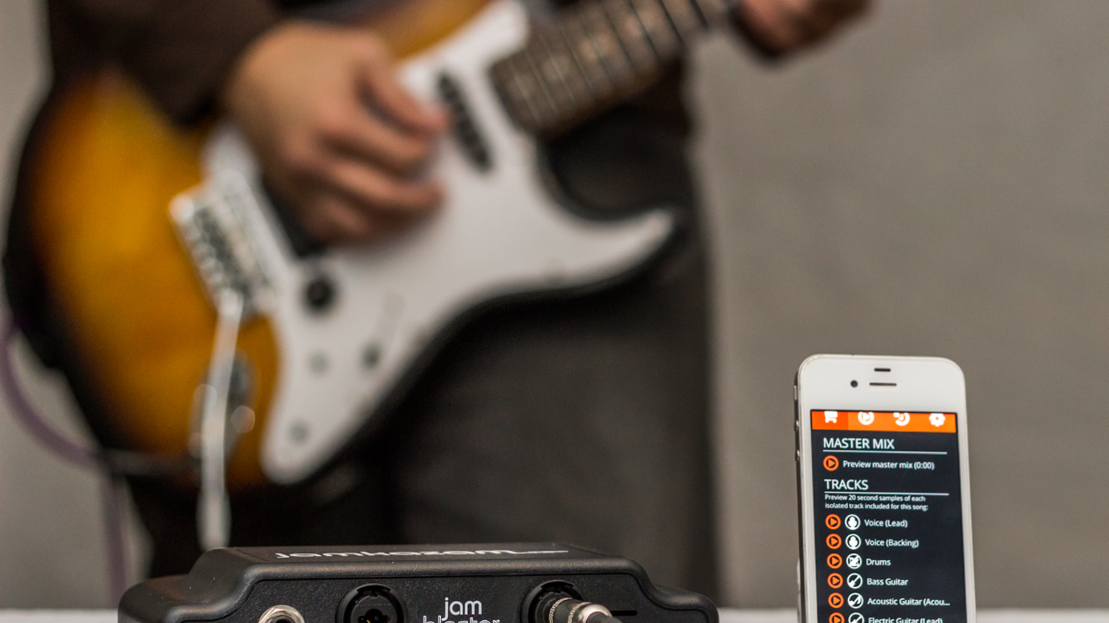 JamBlaster: the ultimate smartphone accessory for musicians by