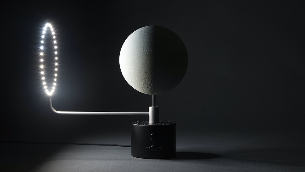 MOON - the most accurate lunar globe project video thumbnail