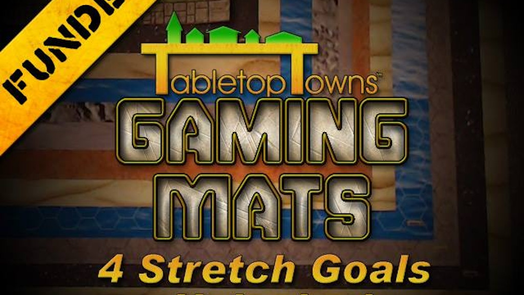 Tabletop Towns Gaming Mats project video thumbnail