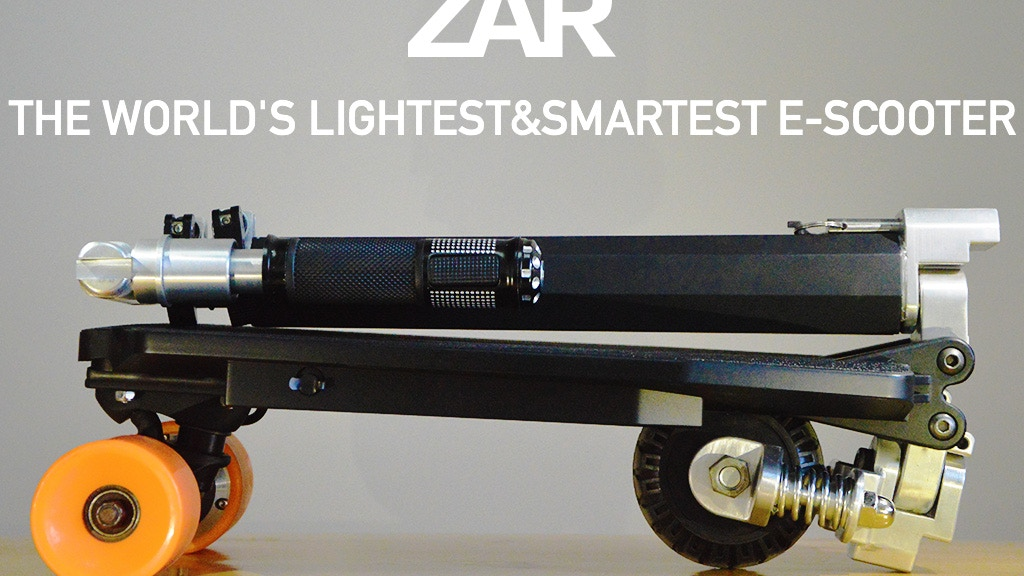 The World's Lightest & Smartest E-Scooter  - ZAR project video thumbnail