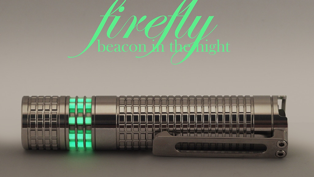 Firefly 2.0 - A Flashlight You Can Always Find in the Dark project video thumbnail
