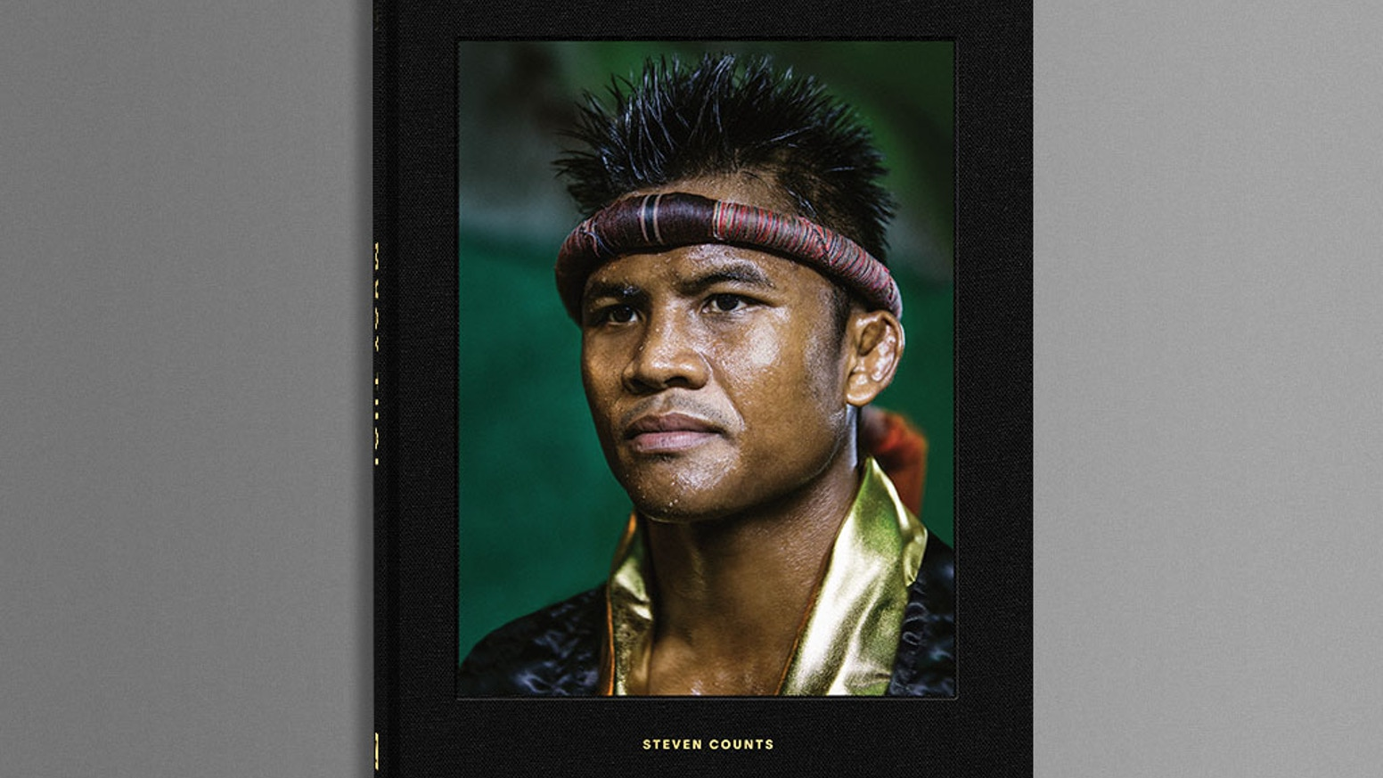 A hardcover photo book exploring Muay Thai lifestyle and culture throughout Thailand's countryside by American sports photographer Steven Counts.