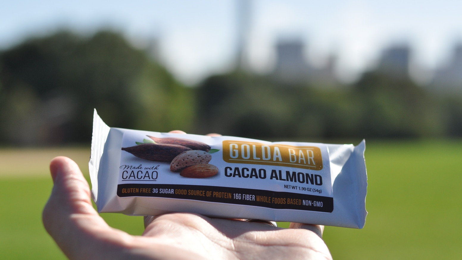 The bar with grass-fed whey, organic raw cacao, & organic coconut oil. Non-GMO. Gluten free. No fake sweeteners, sugar alcohols or added sugar.