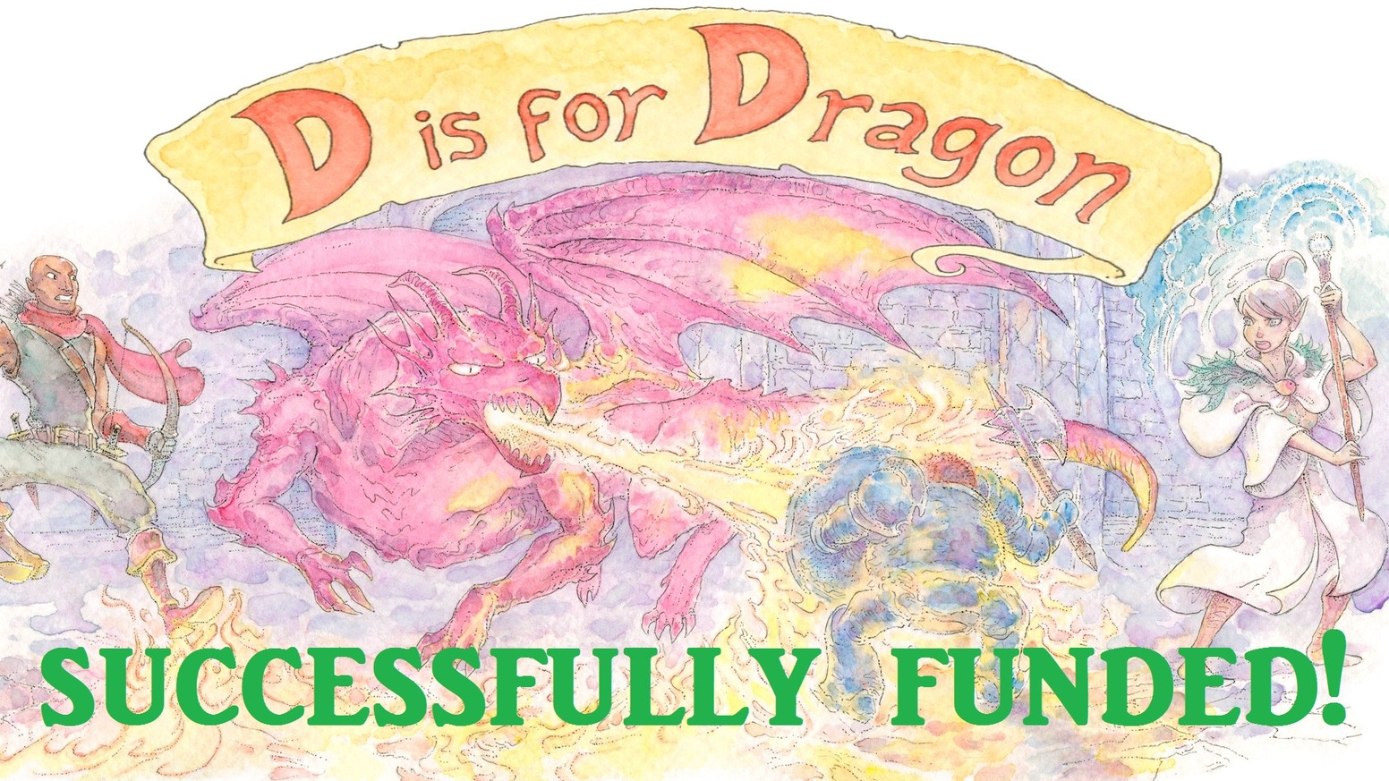 D is for Dragon: An Alphabet Book for your inner nerd by Nathaniel ...