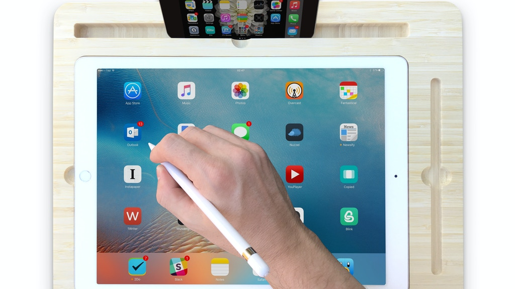 Canvas Smart Desk - Inspired by iPad Pro and Apple Pencil project video thumbnail
