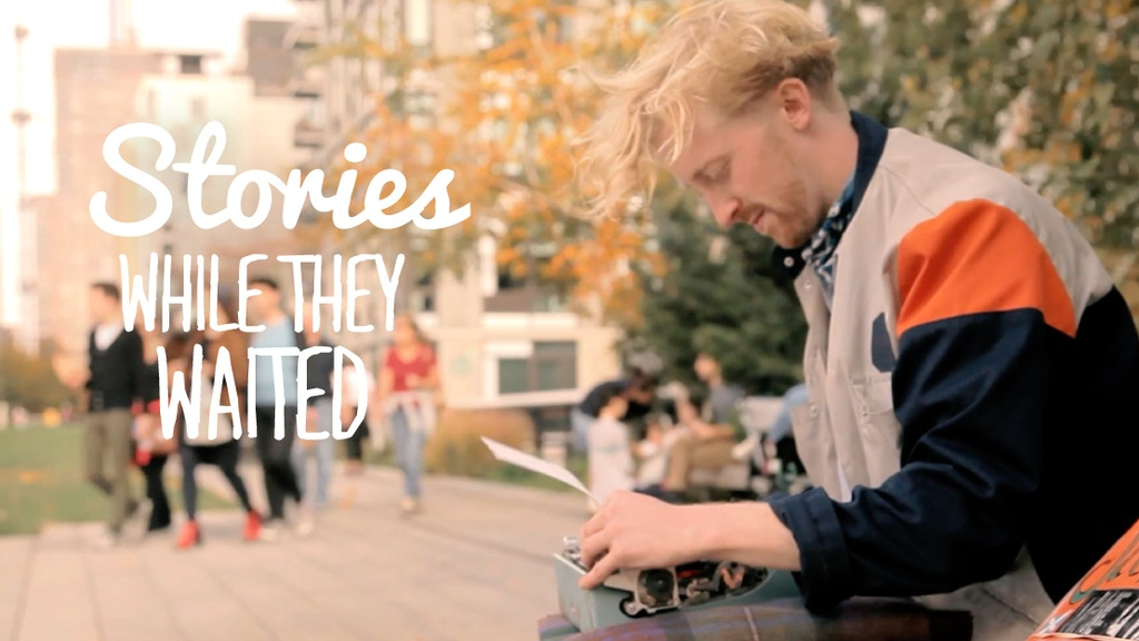 Stories While They Waited project video thumbnail