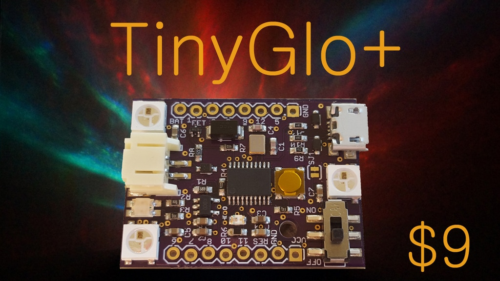 TinyGlo+ project video thumbnail