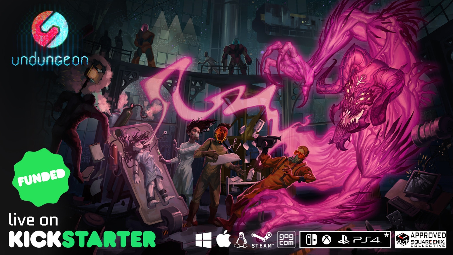 UnDungeon is a beautiful and complex Action/RPG pixelart game with a rich background, immersive story and seven unique characters.