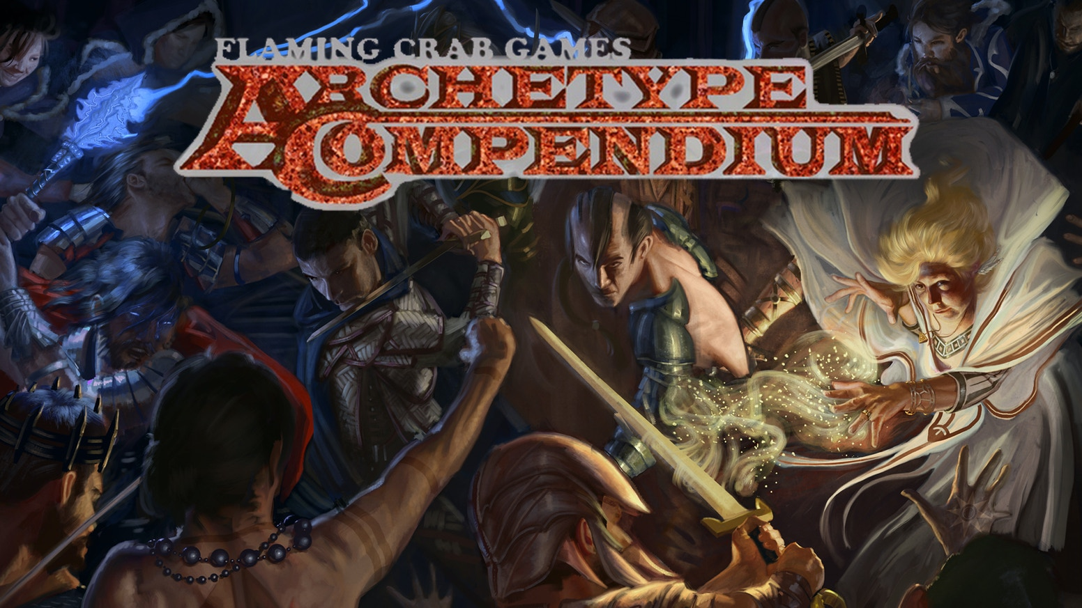 Flaming Crab Games Archetype Compendium for Pathfinder RPG by Alex