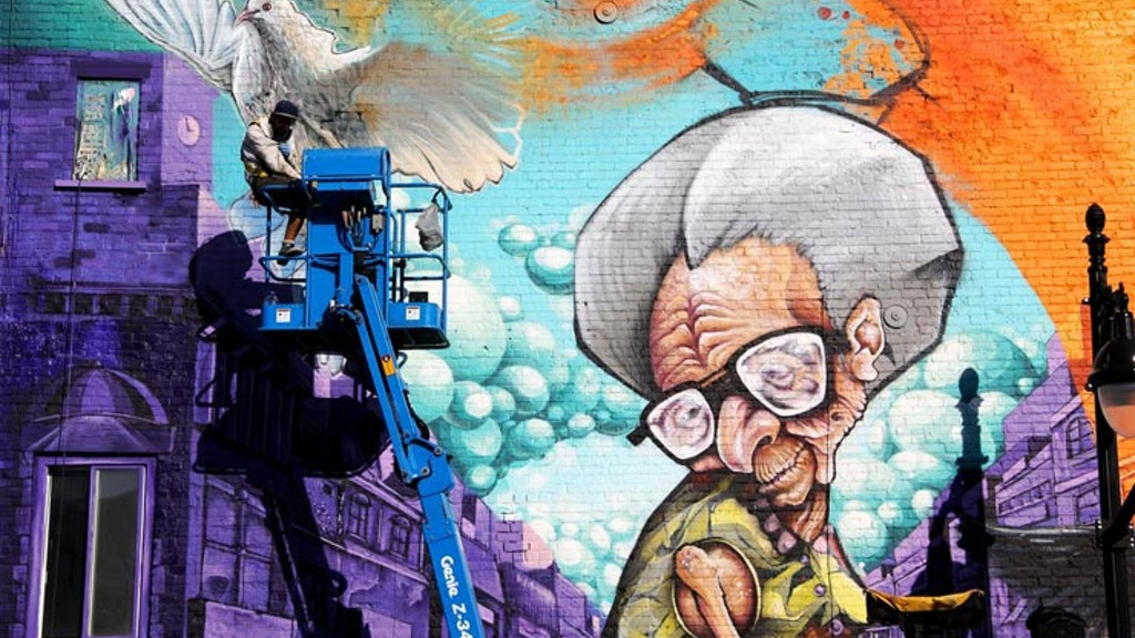 Project image for Montreal street art: The wonders of mural canvas