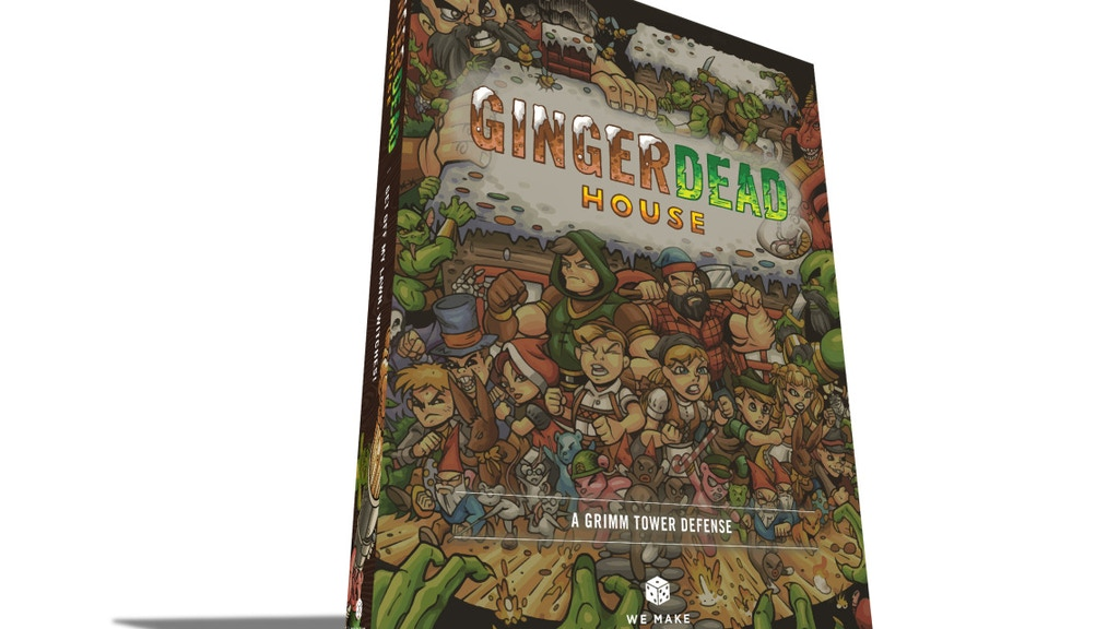 Gingerdead House - A Grimm Tower Defense Board Game project video thumbnail