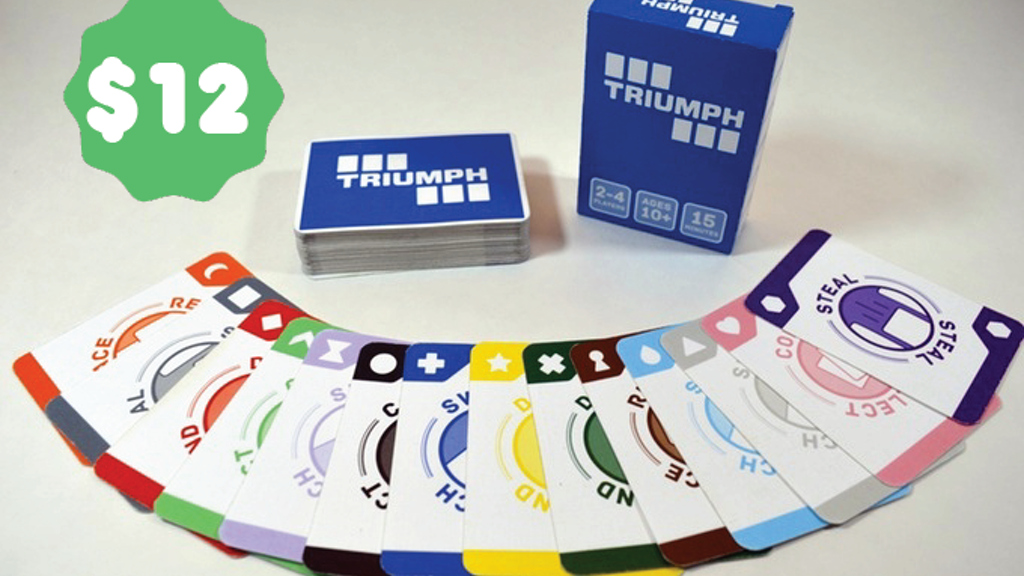 TRIUMPH: A card-arranging strategy game project video thumbnail