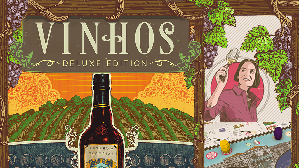 Vinhos Deluxe Edition: Like fine wine, age has improved it! project video thumbnail