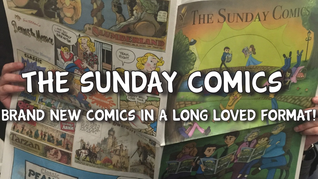 The Sunday Comics project video thumbnail