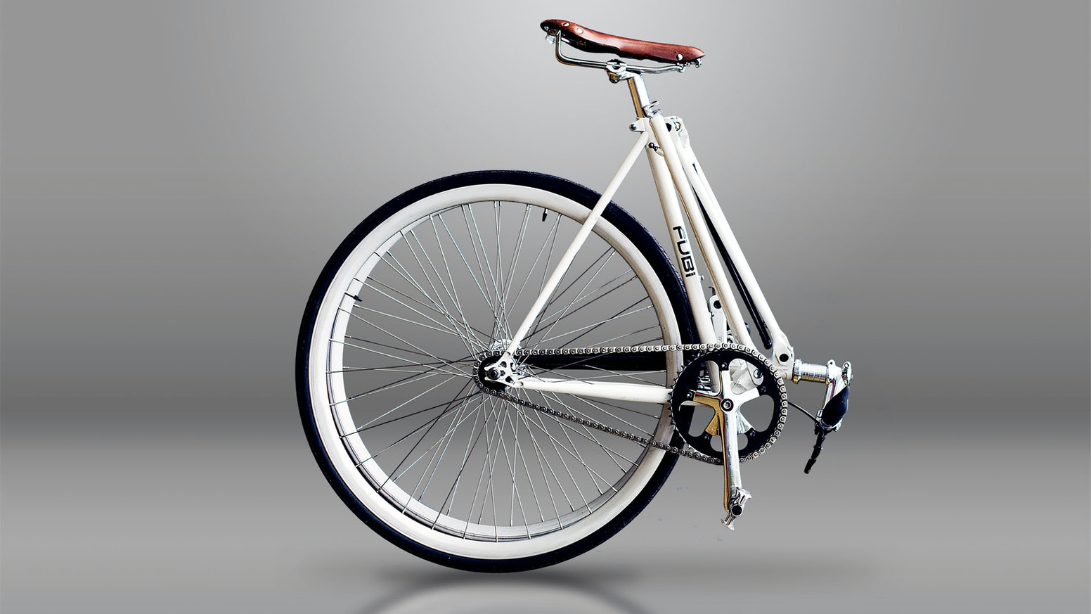 Looks like most bikes, but folds up in seconds and have the same features and design as a normal bike.