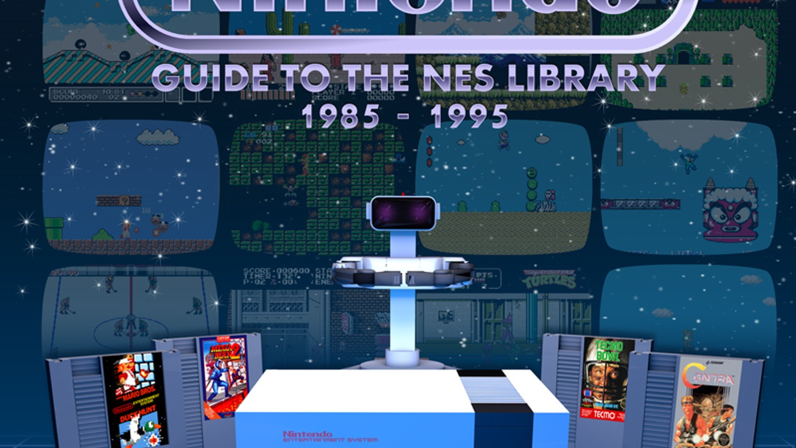 Nintendo NES Library Guide & Review Book of 750+ Games! by