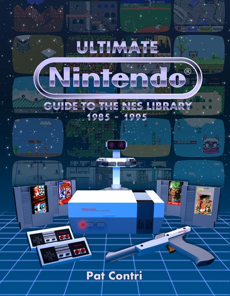 Ultimate Nintendo: Guide to the NES Library is a 450 page hardcover book that reviews