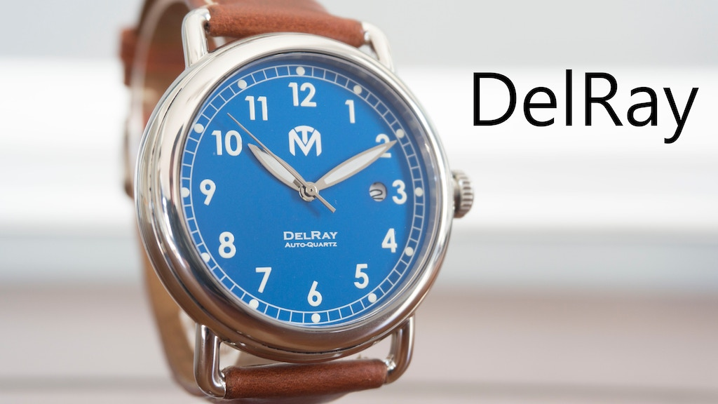 McDowell Time DelRay Auto-Quartz Watch project video thumbnail