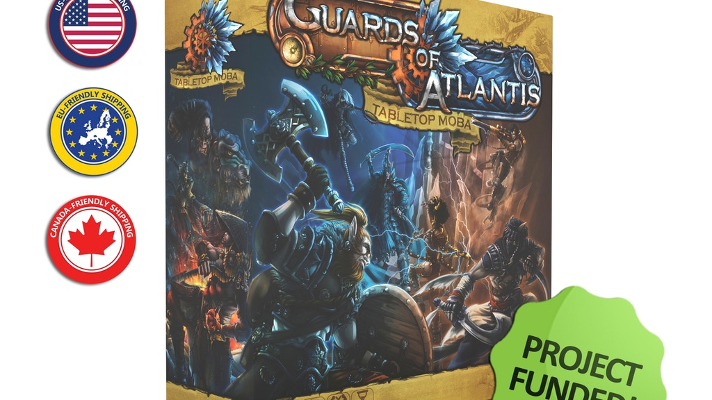 Guards of Atlantis: Tabletop MOBA project video thumbnail
