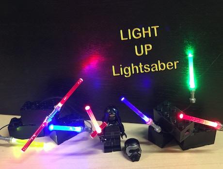 Lego Star Wars Kylo Ren Cross Lightup Lightsabers Iii By