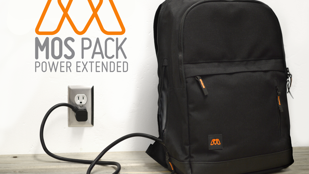 MOS Pack - The Backpack You Plug In To Charge Everything project video thumbnail