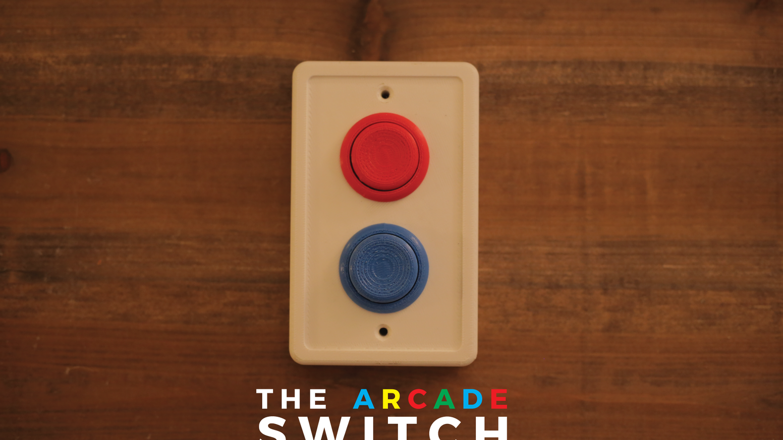 Arcade Era light-switch covers to make you feel like a kid again. Installs in 30 Seconds. Only $4!