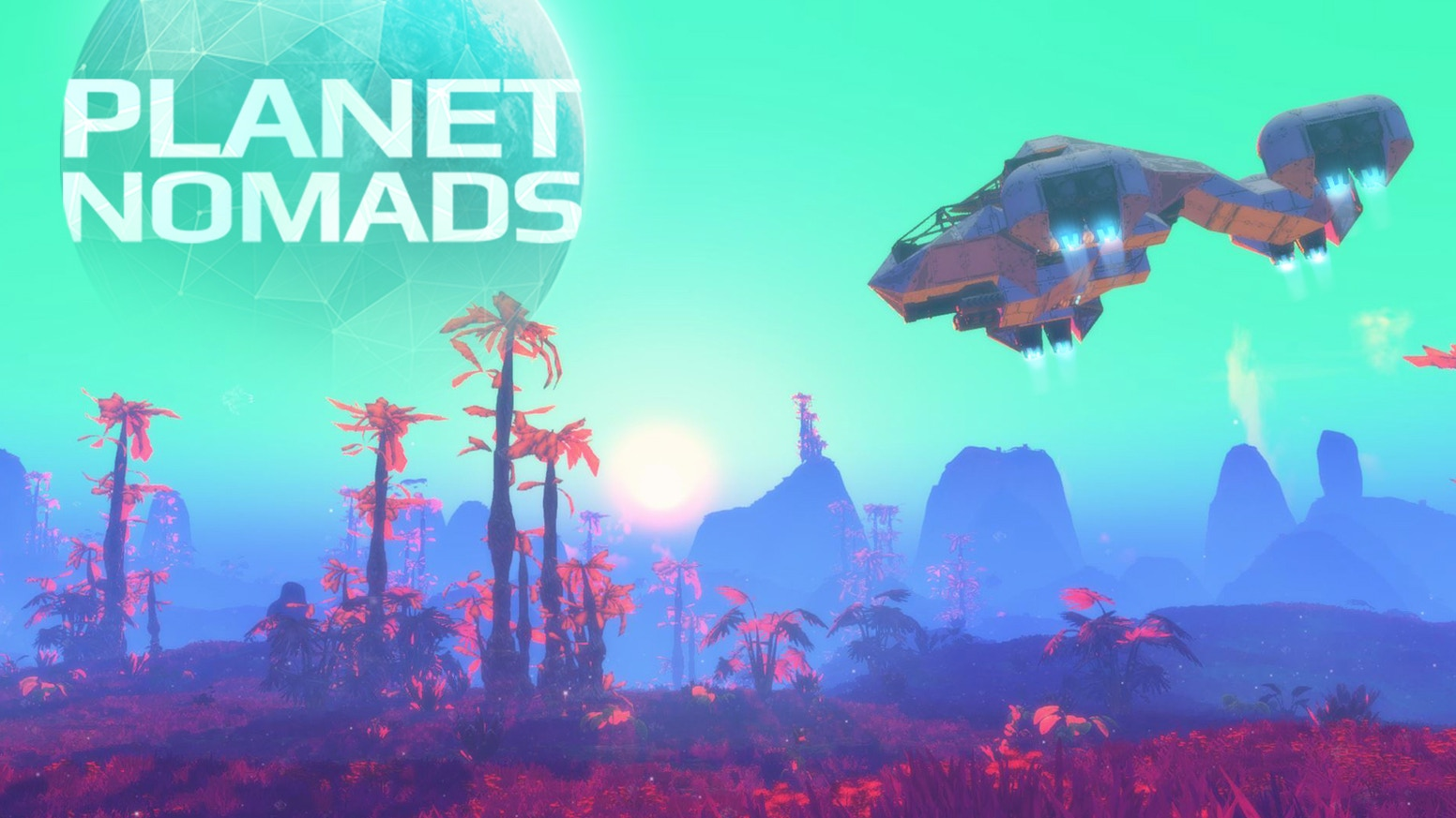 A sci-fi sandbox game of creation and survival on procedurally generated planets.