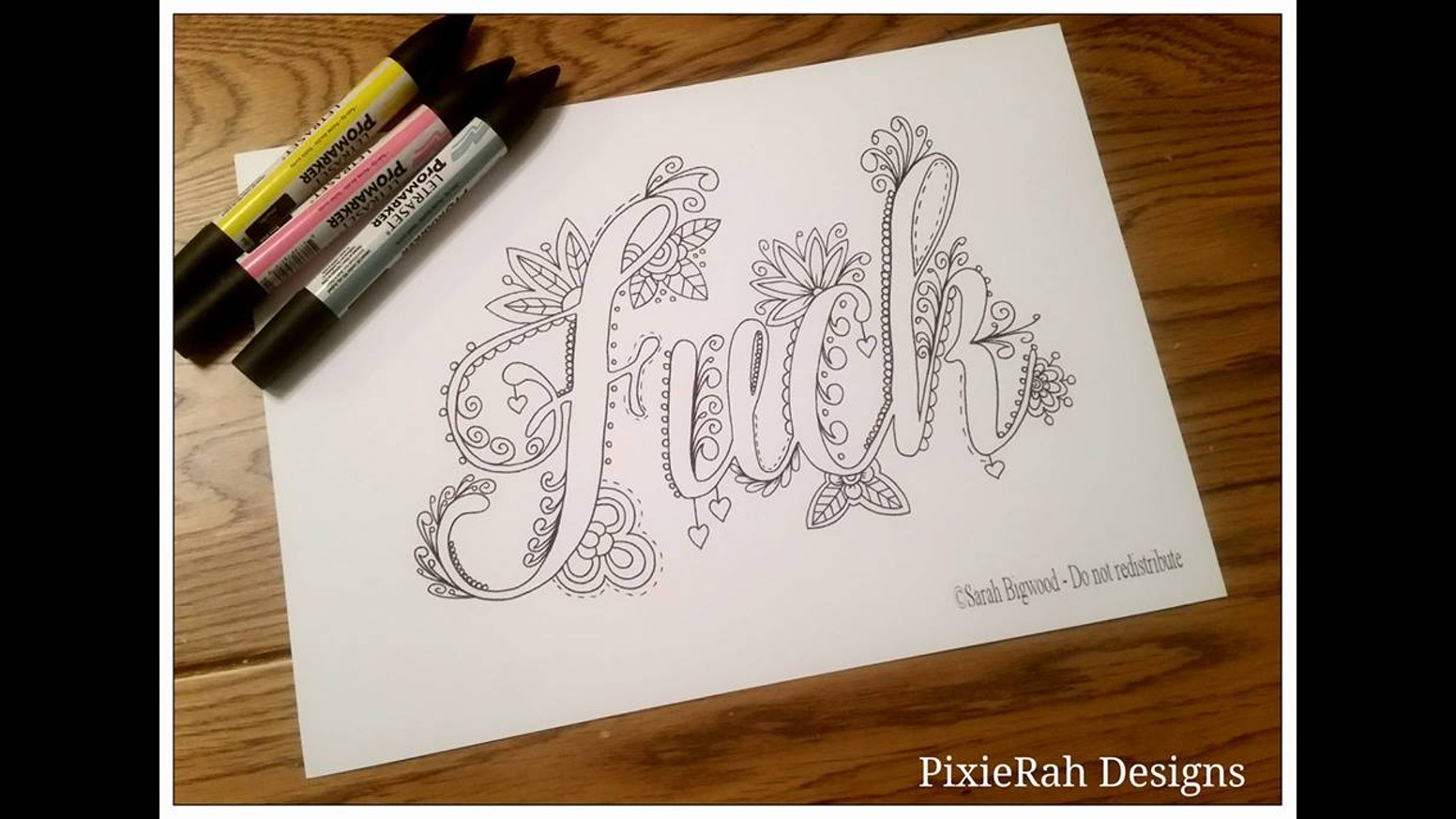 Fancy swear words coloring book - A Fancy Swear Word Colouring Book For Adults For The Days When Only A Big