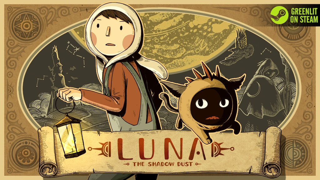 LUNA - The Shadow Dust: A Point and Click Puzzle Adventure project video thumbnail