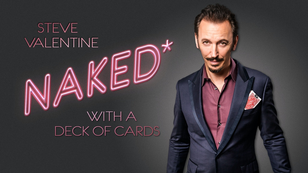 Naked* with a Deck of Cards project video thumbnail