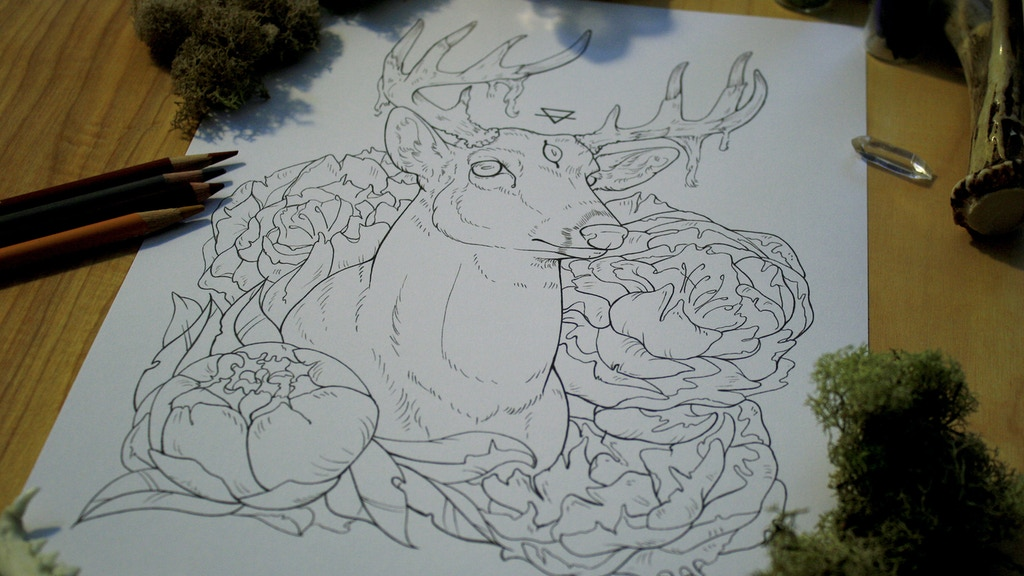 The SKULLGARDEN Coloring Book project video thumbnail