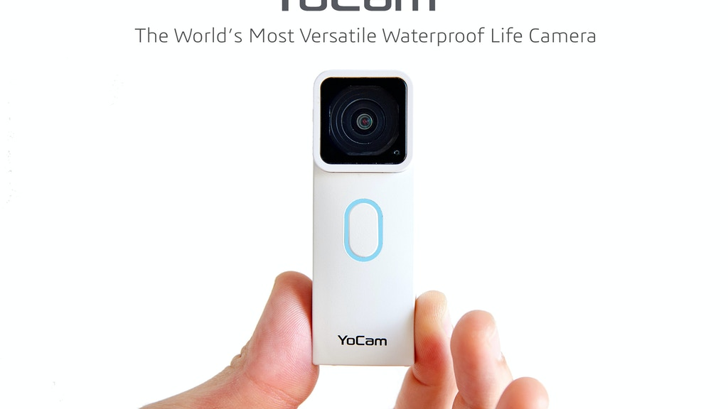 YoCam: The Smallest Waterproof Camera For All Your Needs project video thumbnail