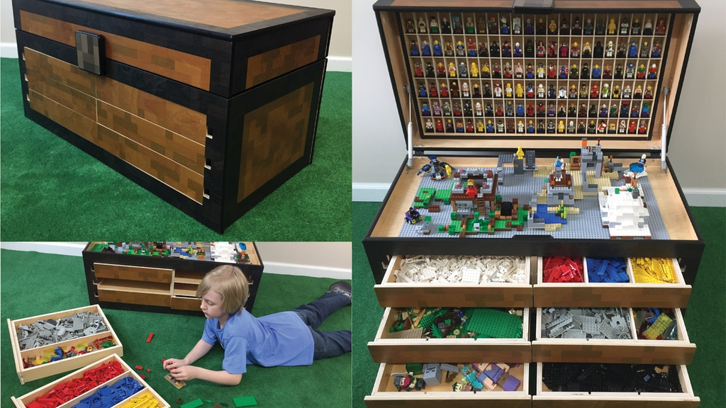 The Larscraft Maker's Chest, A Lego and Toy Storage Solution project video thumbnail