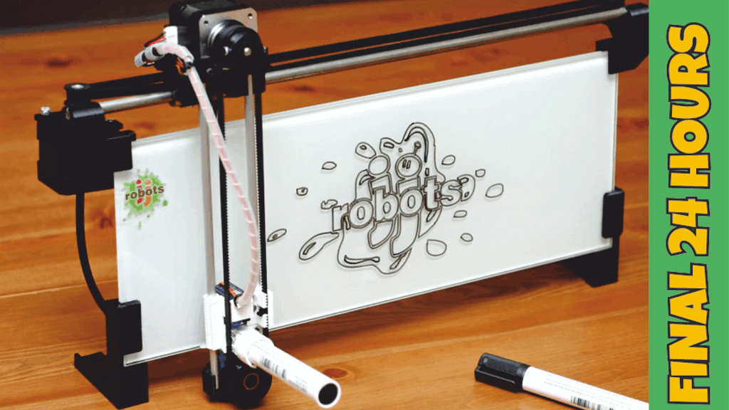 iBoardbot  The internet controlled whiteboard robot by www