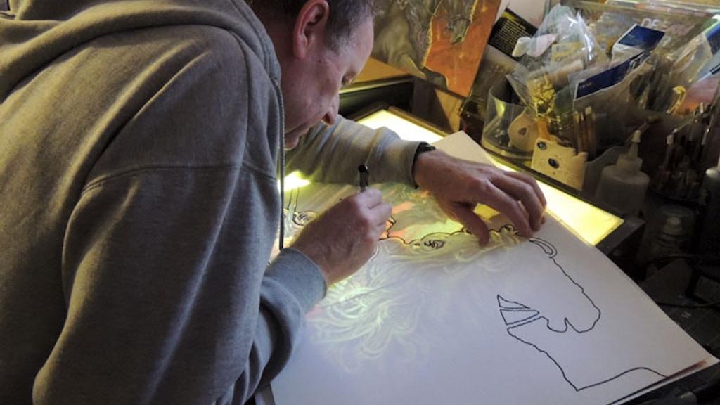 Fantasy Nouveau Coloring Book project video thumbnail