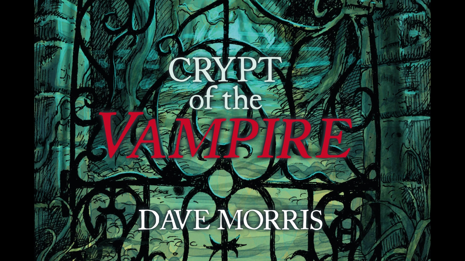 Hardback, full-colour Collector's edition of the Crypt of the Vampire gamebook by Dave Morris. Illustrated by Leo Hartas.