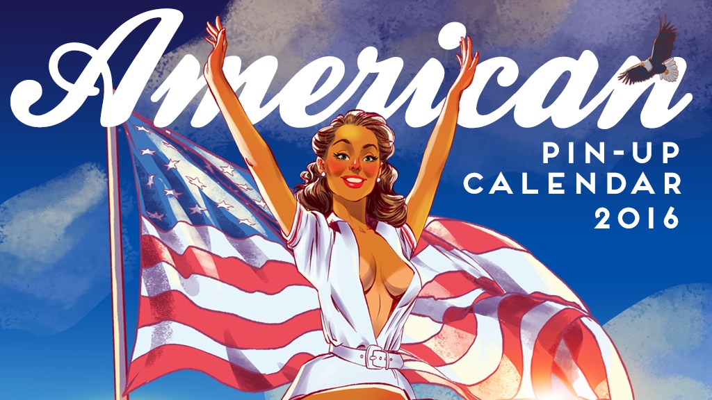 American Pin-up Calendar by Andrew Tarusov project video thumbnail