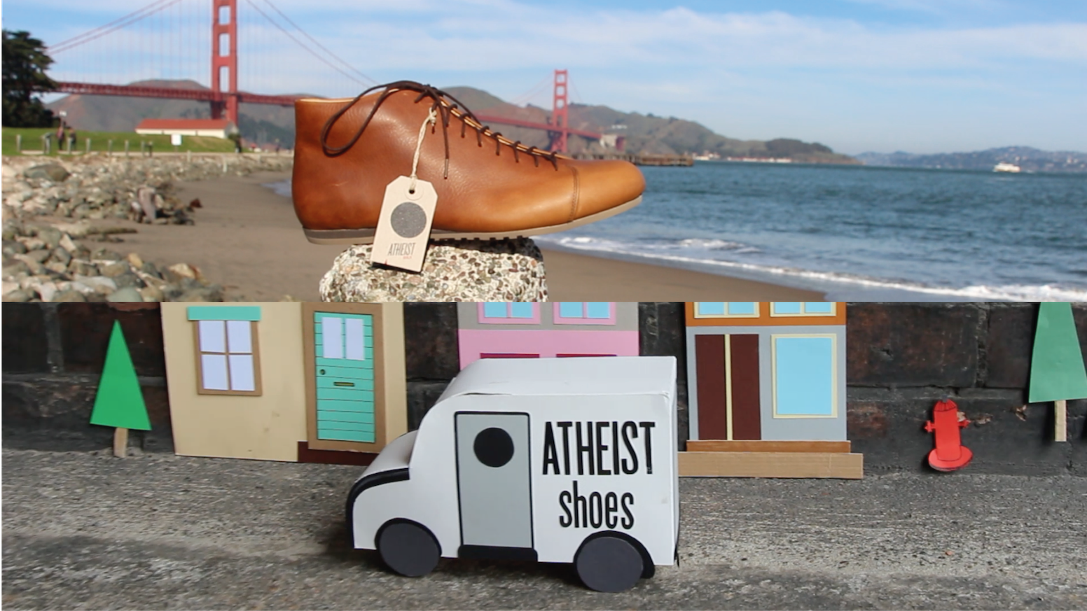 Bringing comfort & godlessness to the USA, via a bus full of handmade shoes & a whole lotta love from friendly European atheists