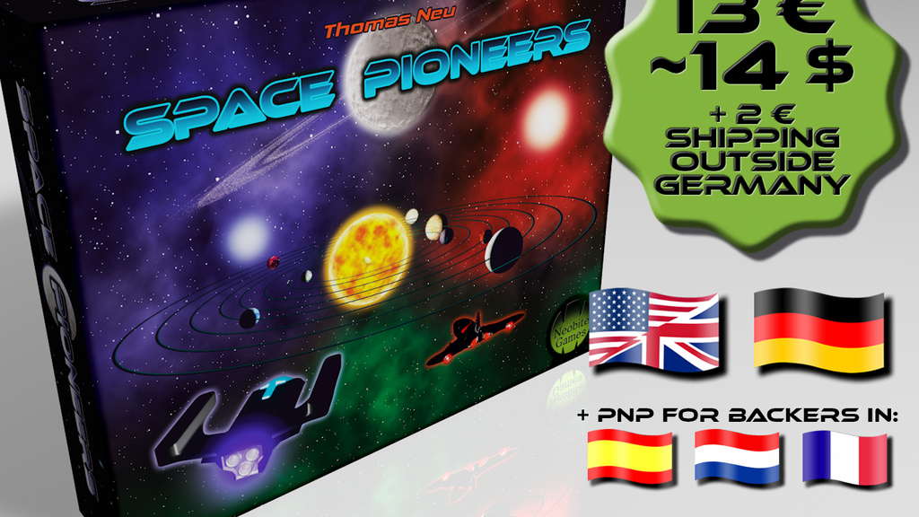 Space Pioneers - A Competitive Card Game for 1-5 Players project video thumbnail