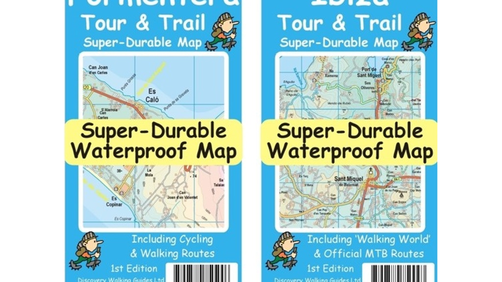 Project image for Ibiza & Formentera Tour & Trail Super-Durable Maps