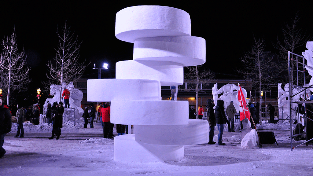 SUBZERO - extreme architecture made of snow project video thumbnail